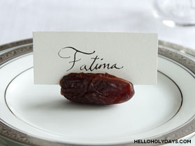 Date Place Card Holder
