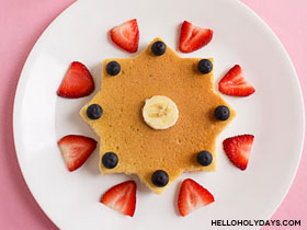 8 Pointed Star Pancakes