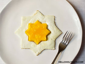 8 Pointed Star Egg