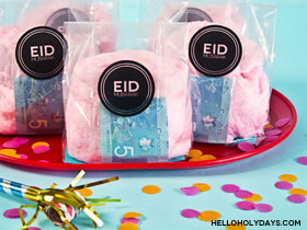 Cotton Candy Eid Pouches