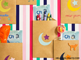 Paper Bag Eid Pouches
