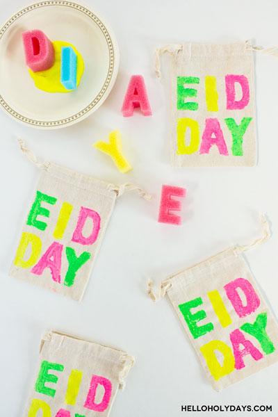 sponge-stamped-eidi-bags