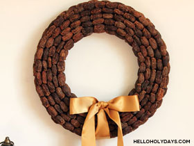 Dried Dates Wreath
