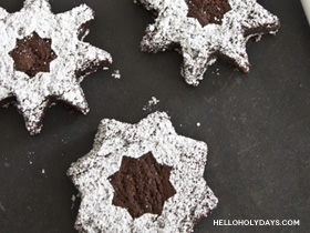 8 Pointed Star Brownies
