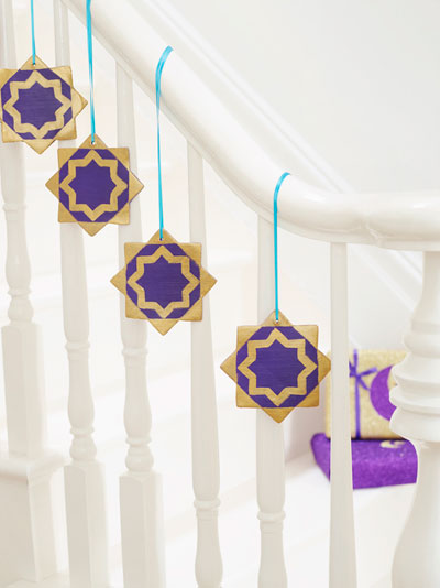 8 Pointed Star Ornaments