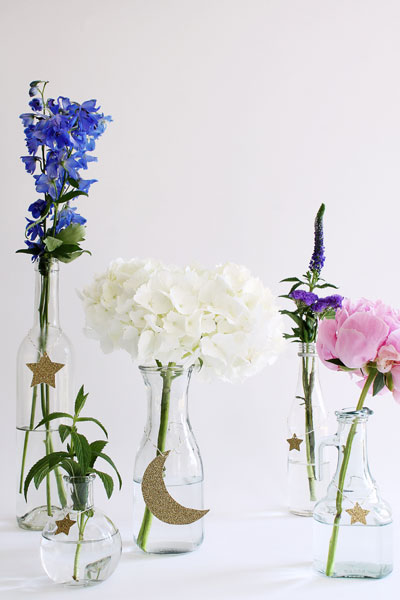 Simple Eid Floral Arrangment