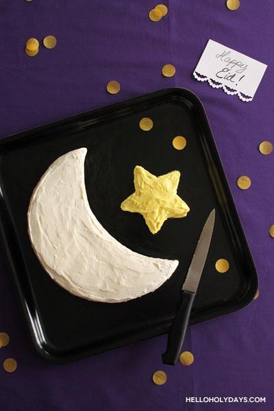 crescent-star-cake