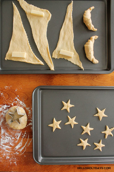 crescent-star-garlic-bread