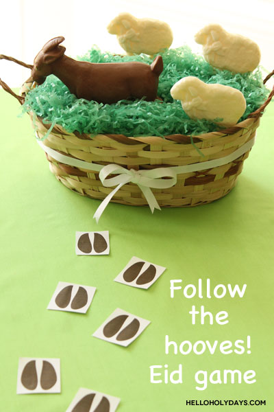 "Eid al Adha ""Follow the Hooves"" Game by Hello Holy Days!"