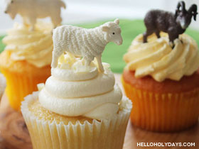 Easy Eid al Adha Cupcakes