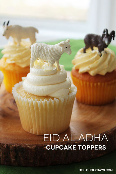 Eid al Adha cupcakes by Hello Holy Days!