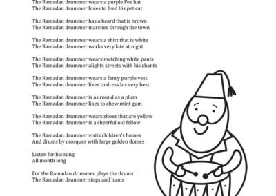 Poem – The Ramadan Drummer