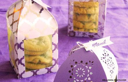 DIY Ramadan Paper Lantern Favor Boxes