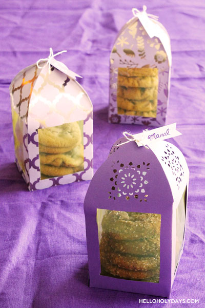 DIY Ramadan Paper Lantern Favor Boxes by Hello Holy Days!