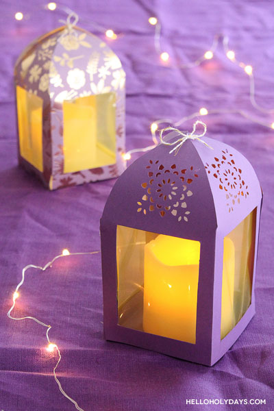 DIY Ramadan Paper Lanterns by Hello Holy Days!