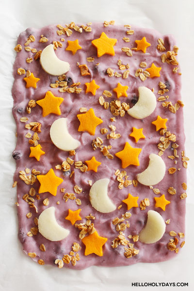Healthy Ramadan Yogurt Bark Recipe by Hello Holy Days!