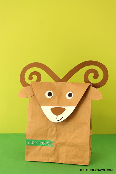 Ram treat bags for Eid al Adha by Hello Holy Days!