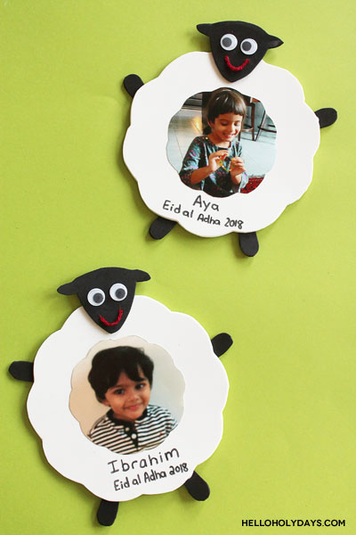 Eid al Adha Photo Frame Craft by Hello Holy Days!