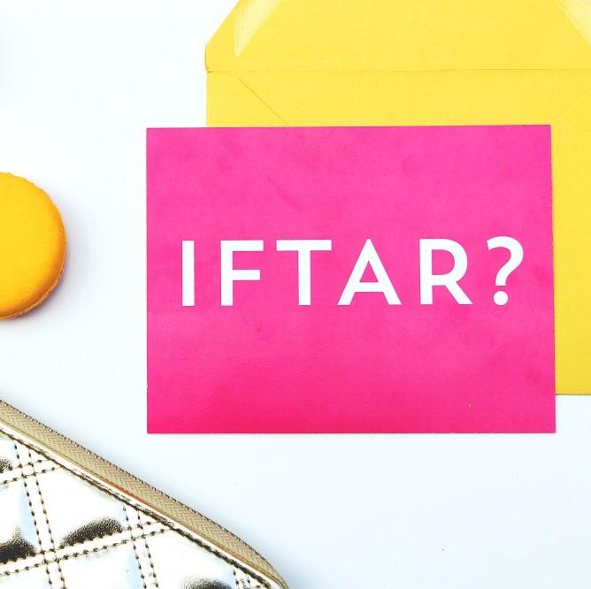 free ramadan iftar invitation printable neon