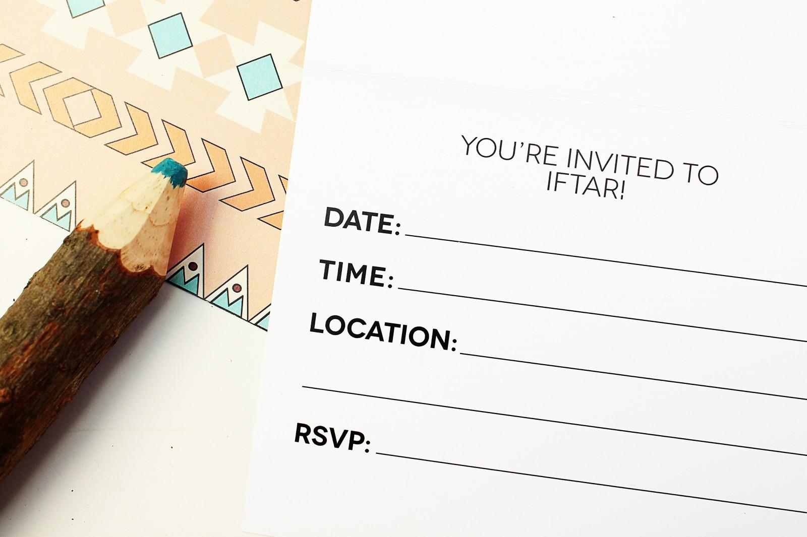 free ramadan printable iftar invitation nomad