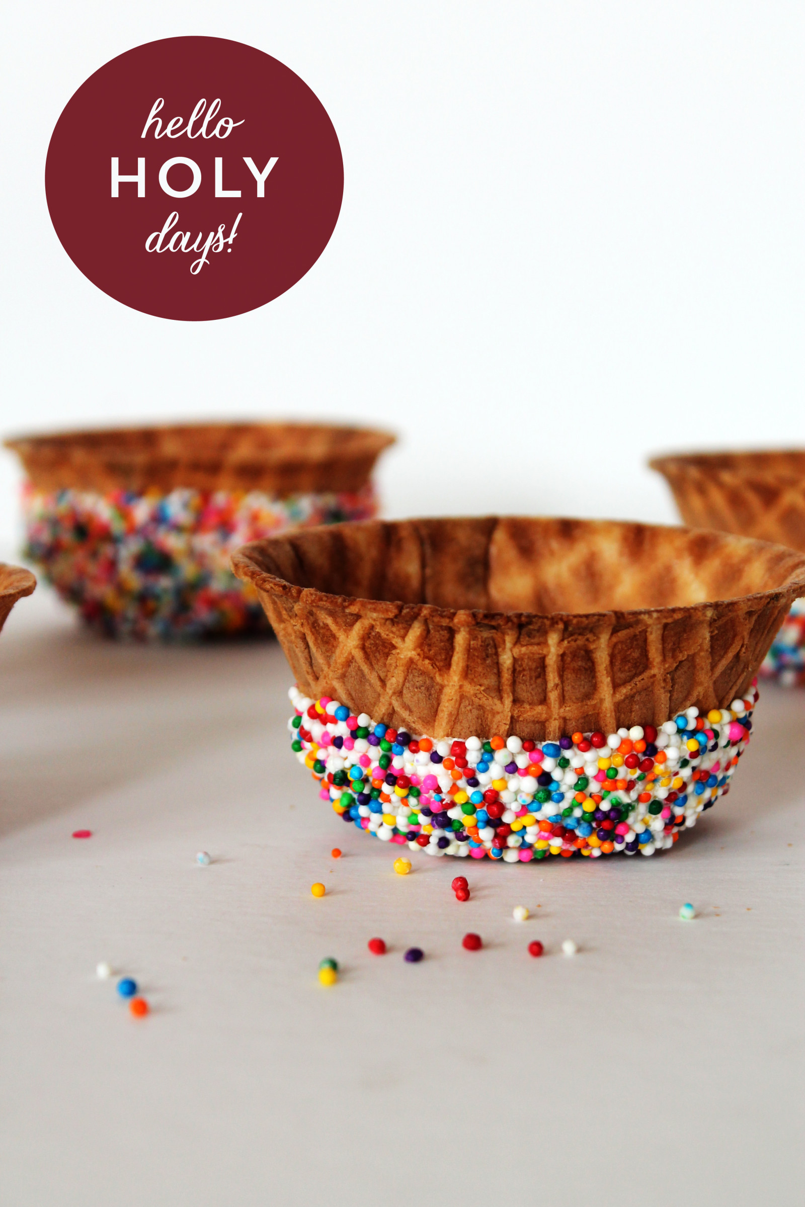 fun ice cream bowls for ramadan