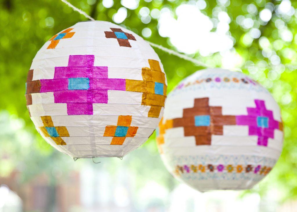 kilim lanterns