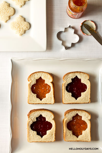 Ramadan Food Ideas: Lantern Sandwiches