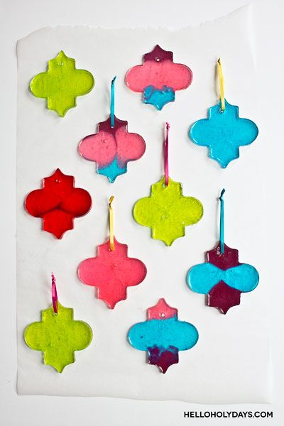 Ramadan Food Ideas: Candy Lanterns - Hello Holy Days!