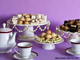Eid Jasmine Garland Table Decorations