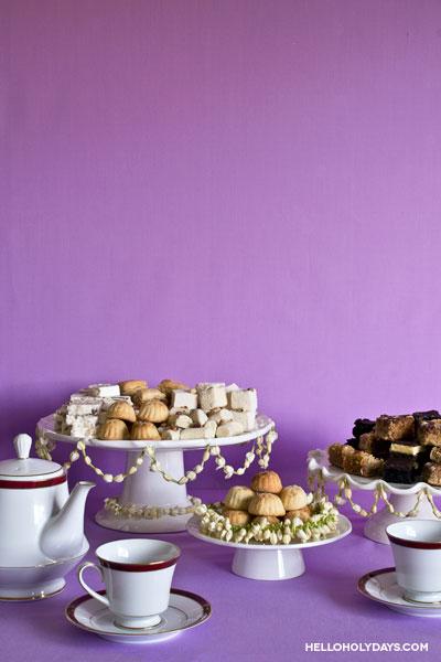 Eid Ideas: Jasmine Garland Table Decorations