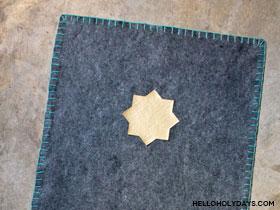 Handmade Felt Prayer Rug