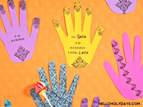 Henna Hands Greeting Cards
