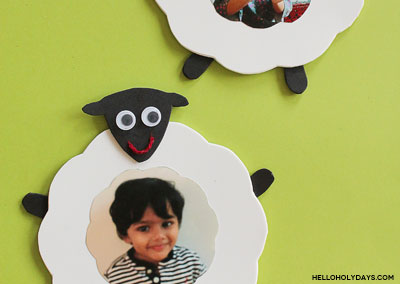 Eid Al Adha Sheep Photo Frames