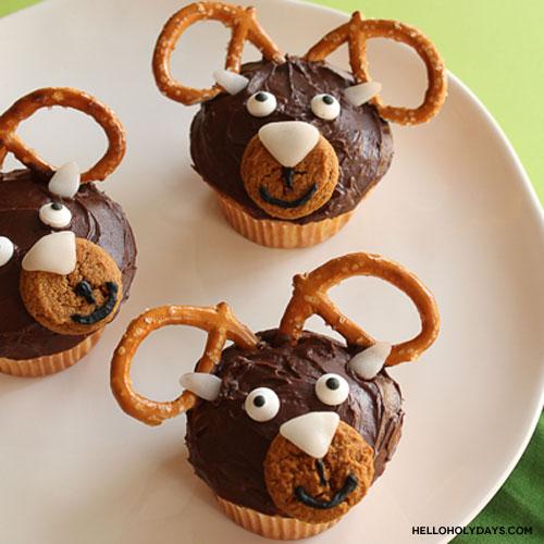 Eid al Adha Ram Cupcakes