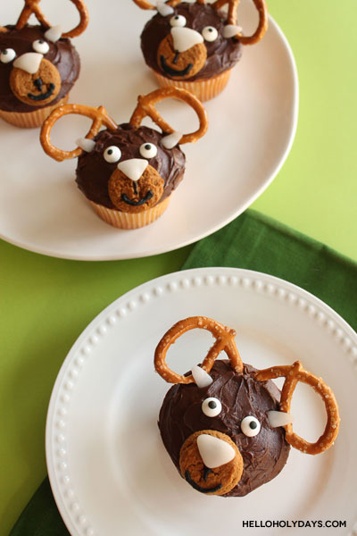 Eid al Adha Ram Cupcakes Recipe by Hello Holy Days for Crate&Kidsblog